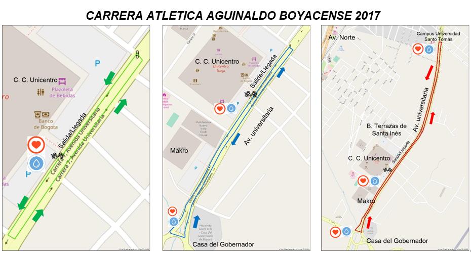 Información Carrera Atlética Aguinaldo Boyacense