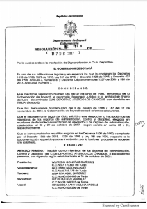 PERSONERIA JURIDICA