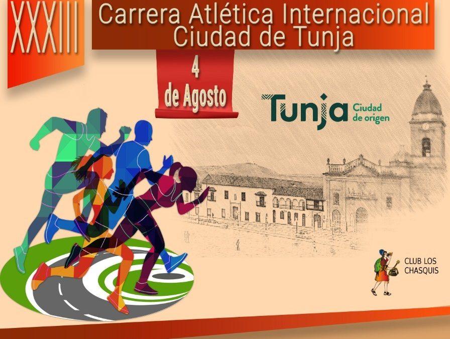 XXXIII CARRERA ATLÉTICA INTERNACIONAL CIUDAD DE TUNJA «BICENTENARIO»
