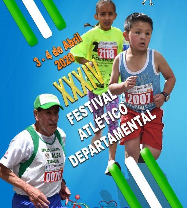 XXXIV FESTIVAL ATLÉTICO DEPARTAMENTAL CLUB LOS CHASQUIS